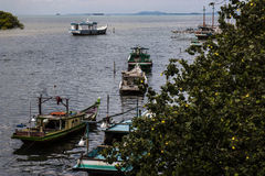 Traditional fishing boats, November 2014 Royalty Free Stock Photos