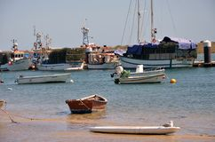 Traditional fishing boats Royalty Free Stock Photo
