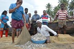 Traditional fishing Stock Image
