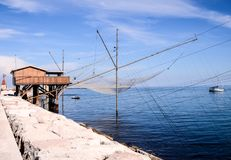 Traditional Fishing House. Traditional Fishing Europen House near Venice in Italy stock image