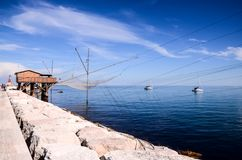 Traditional Fishing House. Traditional Fishing Europen House near Venice in Italy royalty free stock image