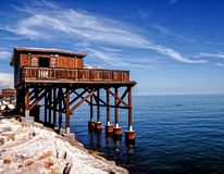 Traditional Fishing House. Traditional Fishing Europen House near Venice in Italy stock photo