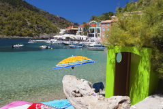 Traditional fishing village of Assos Royalty Free Stock Photography