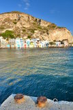 Traditional fishing village. Klima, Milos. Cyclades islands. Greece Royalty Free Stock Photos