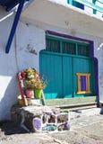 Traditional fishing village on Milos island, Greece Stock Photos
