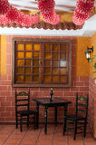 Traditional flamenco bar during the Feria de Abril on April Spain Royalty Free Stock Photography