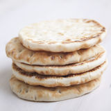 Traditional flat bread Stock Images
