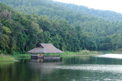 Traditional floating houses Royalty Free Stock Photography