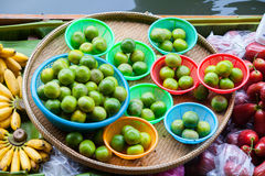 Traditional floating market Stock Images