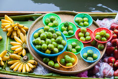 Traditional floating market Royalty Free Stock Images