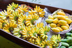 Traditional floating market Royalty Free Stock Photography