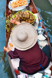 Traditional floating market ,Thailand. Stock Images