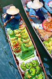 Traditional floating market ,Thailand. Royalty Free Stock Photo