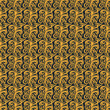 Traditional Flora Batik Pattern Royalty Free Stock Images