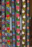 Traditional floral belts Royalty Free Stock Image