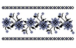 Traditional floral embrodery royalty free stock photography
