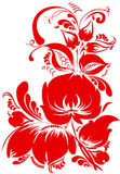 Traditional floral pattern Stock Photography
