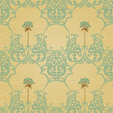 Traditional floral pattern in retro style. Stock Photography