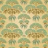 Traditional floral pattern in retro style. Stock Image