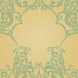 Traditional floral pattern in retro style. Royalty Free Stock Photos