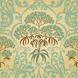 Traditional floral pattern in retro style. Stock Photo