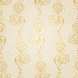 Traditional floral pattern in Victorian style. Stock Photography