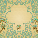 Traditional floral pattern in Victorian style. Stock Photos