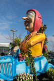 The traditional flowers parade Bloemencorso from Noordwijk to Haarlem in the Netherlands. Stock Photography