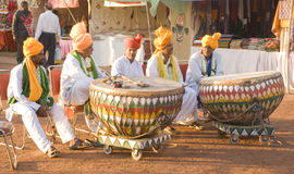 Traditional Folk Artists Royalty Free Stock Image