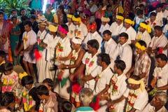 Traditional Folk Dance. A community called Naayakar's traditional folk dance - Devar aattam stock images