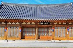Korea Traditional Folk House Stock Photos
