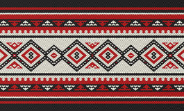 Traditional Folk Sadu Arabian Hand Weaving Pattern Stock Images