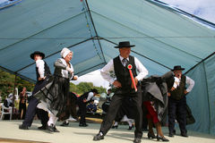 Traditional folklore dance, correze Royalty Free Stock Photos