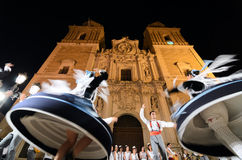 Traditional folklore in Vélez-Rubio, Spain Stock Images