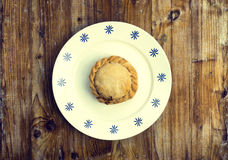Traditional food from balearic islands. Empanada mallorquina, traditional food from Majorca royalty free stock photos