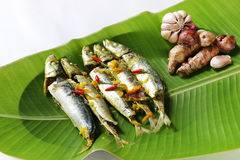 Traditional food of Borneo - Ikan Basung masak ampap Royalty Free Stock Photography