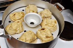 Traditional food dumplings cooked Stock Photography