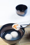 Chinese glutenous rice ball Royalty Free Stock Photos