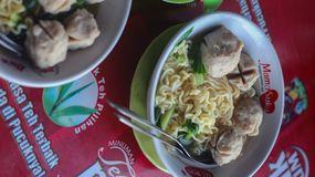 Bakso meat ball. Traditional food of indonesia bakso meat ball stock photography