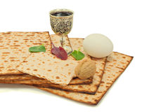 Traditional food of Jewish Passover holiday Stock Image