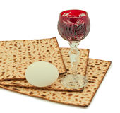 Traditional food of Jewish Passover holiday Stock Photos