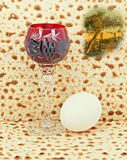Traditional food of Jewish Passover holiday Royalty Free Stock Image