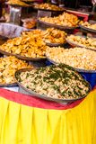 TRaditional food market in India. Royalty Free Stock Photos