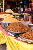 TRaditional food market in India. Royalty Free Stock Photography