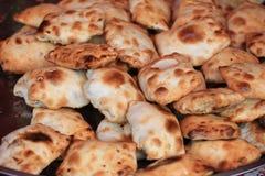 Traditional food roasted stuffed bun (kaobaobi) in xinjiang Royalty Free Stock Photos