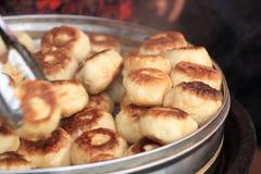 Traditional food roasted stuffed bun (kaobaobi) in xinjiang Stock Photography