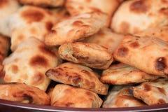 Traditional food roasted stuffed bun (kaobaobi) in xinjiang Stock Images
