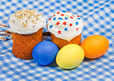 Traditional food for russian Easter Royalty Free Stock Photo