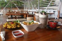 Traditional food stock image