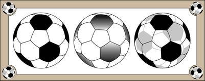 Traditional Football Illustration Stock Photo